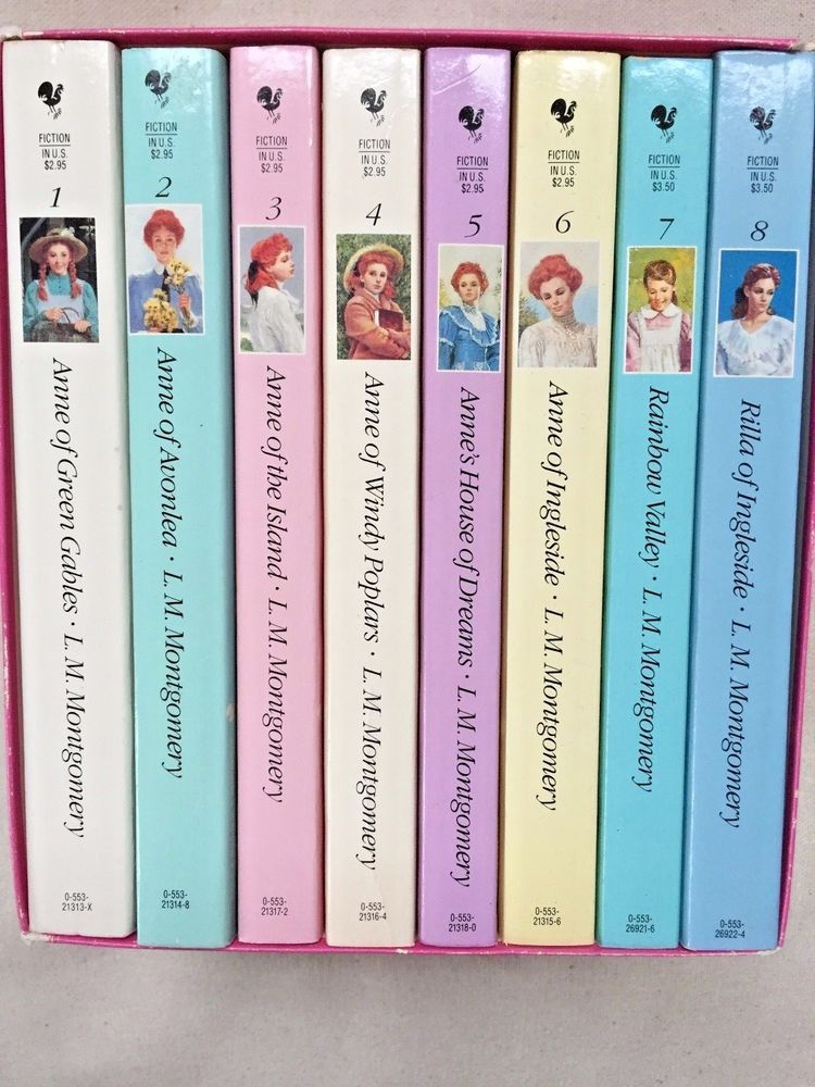 The Complete Set Of Anne Of Green Gables By L M Montgomery 1992