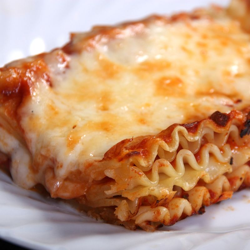This No Meat Lasagna Recipe Is Great For The Vegetarian. It Is Simple, Tasty