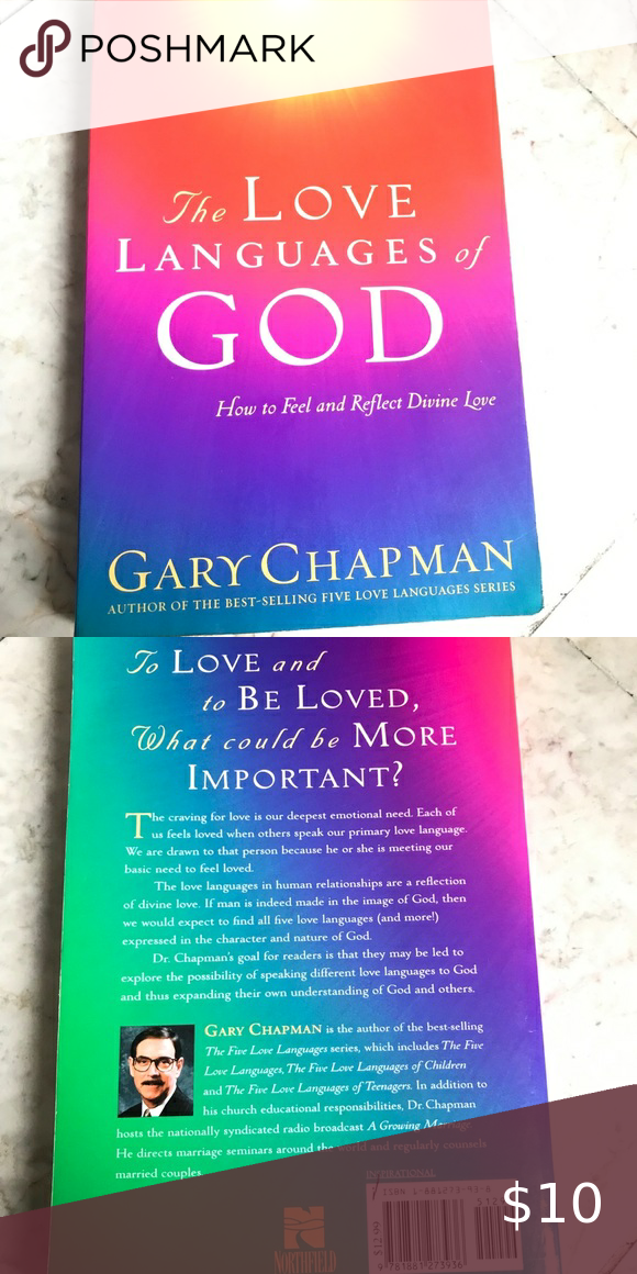 The Love Languages of God by Gary Chapman | Love languages