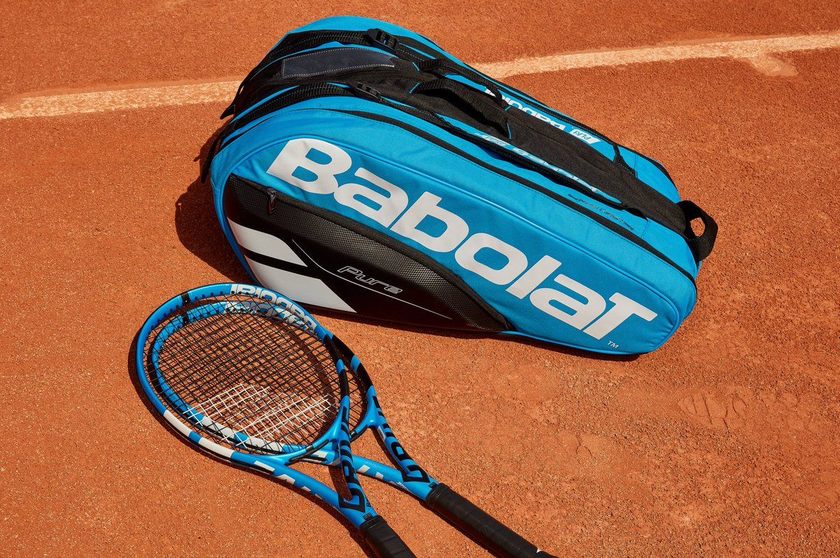 Babolat Tennis Gear Babolat Pure Drive Tennis Racket And 12 Pack Bag In Rolland Garros Garbine Muguruza Babolat Tennis Tennis Clothes Tennis Bag