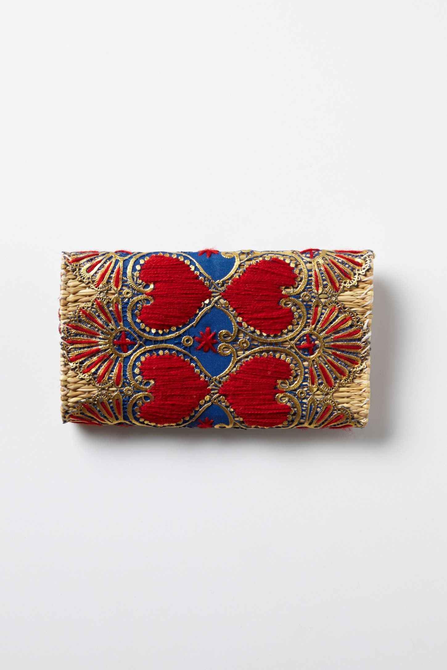 Woven Fireworks Clutch - Anthropologie.com