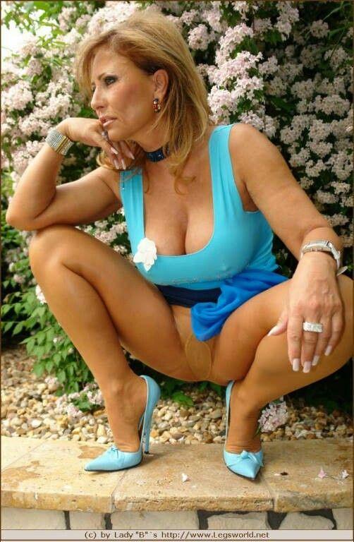 Topic pantyhose lady barbara not