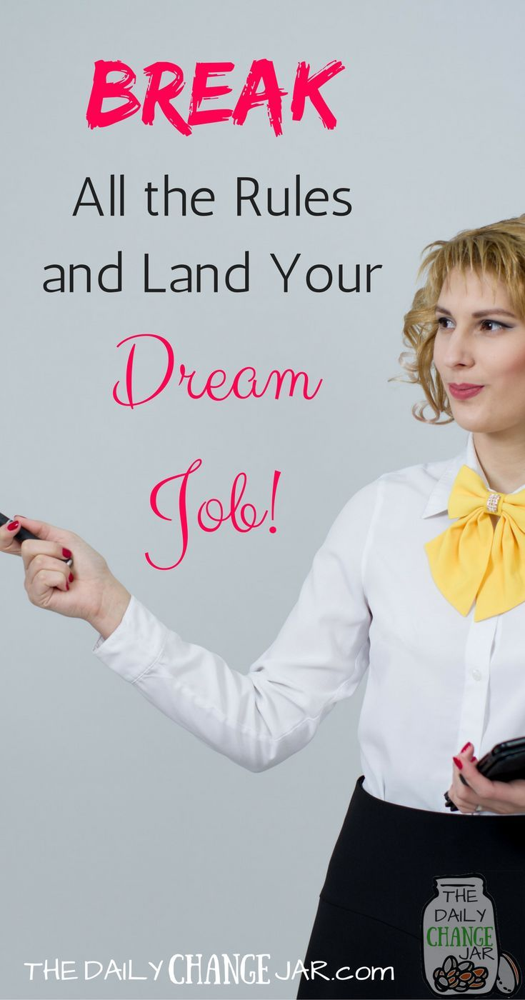 Do you want to land your dream job but dont have the