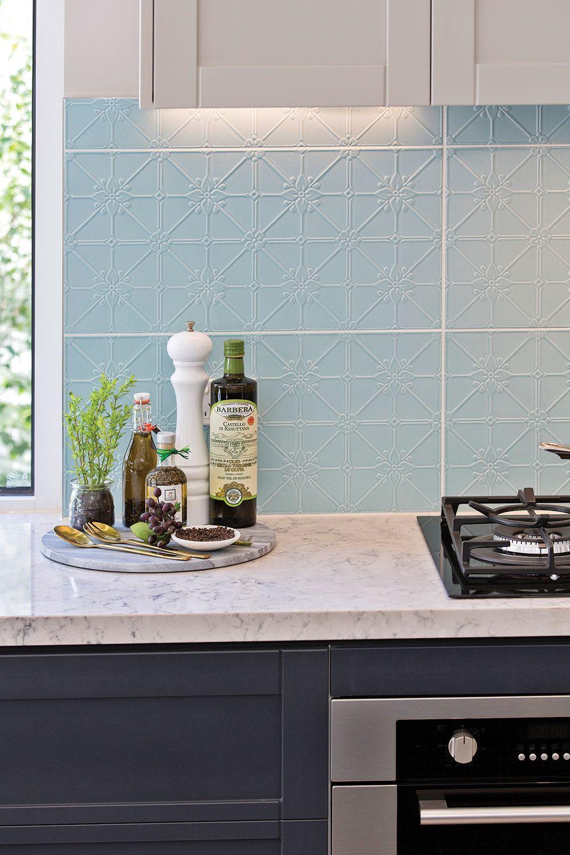 Best 40 Amazing Mixed Flooring Kitchen Splashback Splashback Tiles Kitchen Backsplash 400 x 300