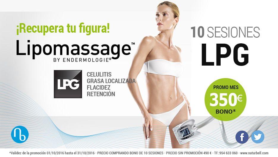 #OFERTA ❤ 10 sesiones LPG para recuperar tu figura por 350 €/bono     #sevilla #estetica