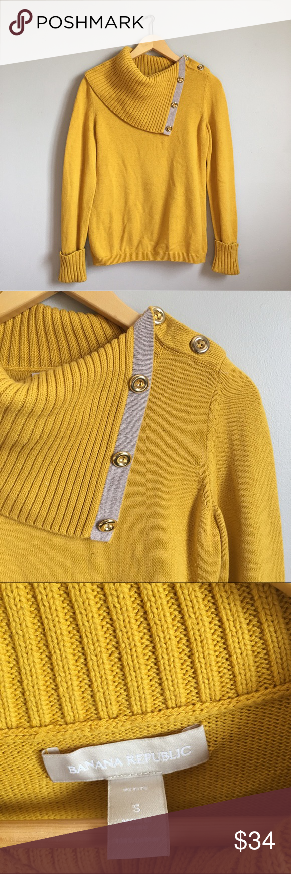 Banana Republic yellow sweater Gorgeous Banana Republic canary ...