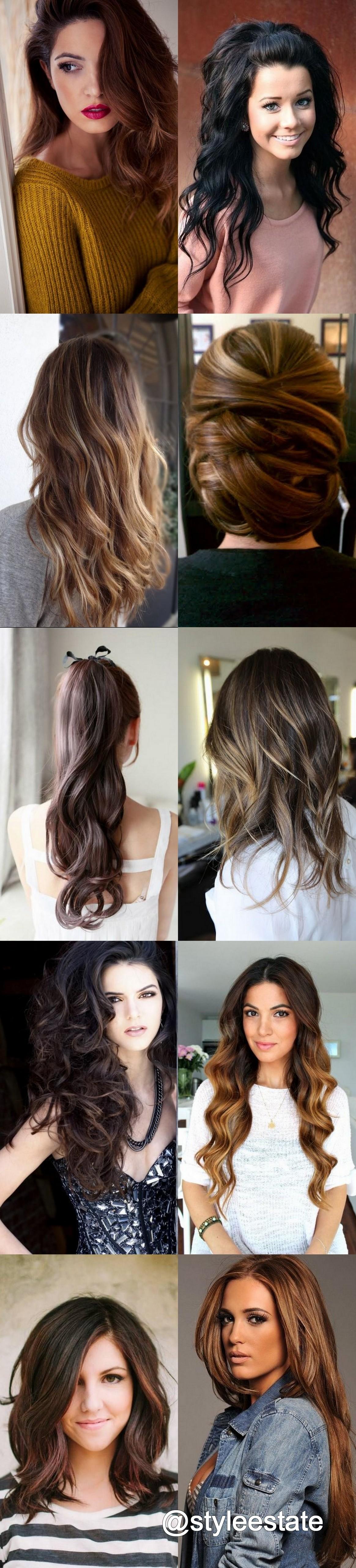 1456913382824 (1164×5120) | Hair styles, Brunette hair ...
