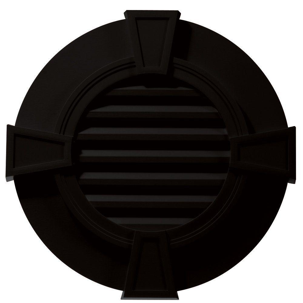Builders edge 120033030002 30 round octagon vent wide