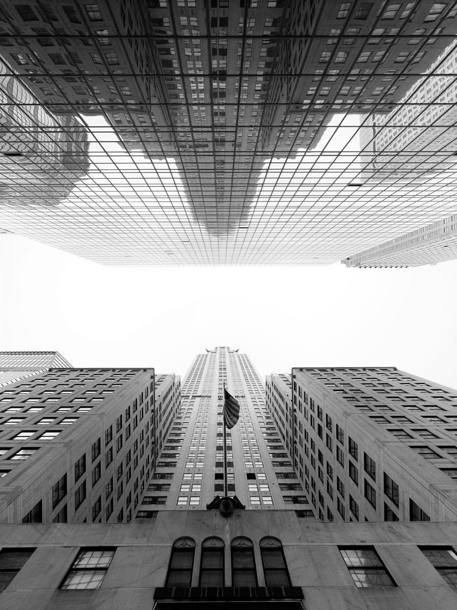 New York City Photographed Straight Up By Cameron R Neilson Up