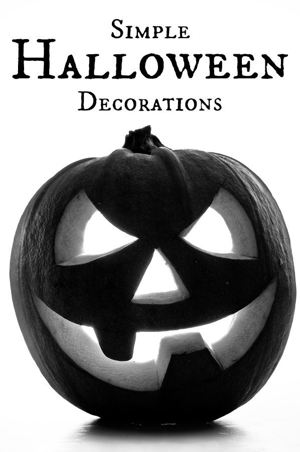 These simple DIY Halloween decorations will have your house ready - halloween decorations to make at home for kids