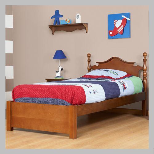 CAMA CLÁSICA PARA NIÑO CJ-15-100-AC Hermosa cama de nuestra línea
