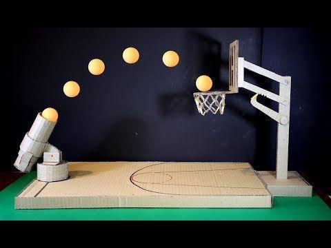 Lxg247 How To Make A Basketball Game Using Cardboard Youtube Basketball Games For Kids Basketball Games Game Basket