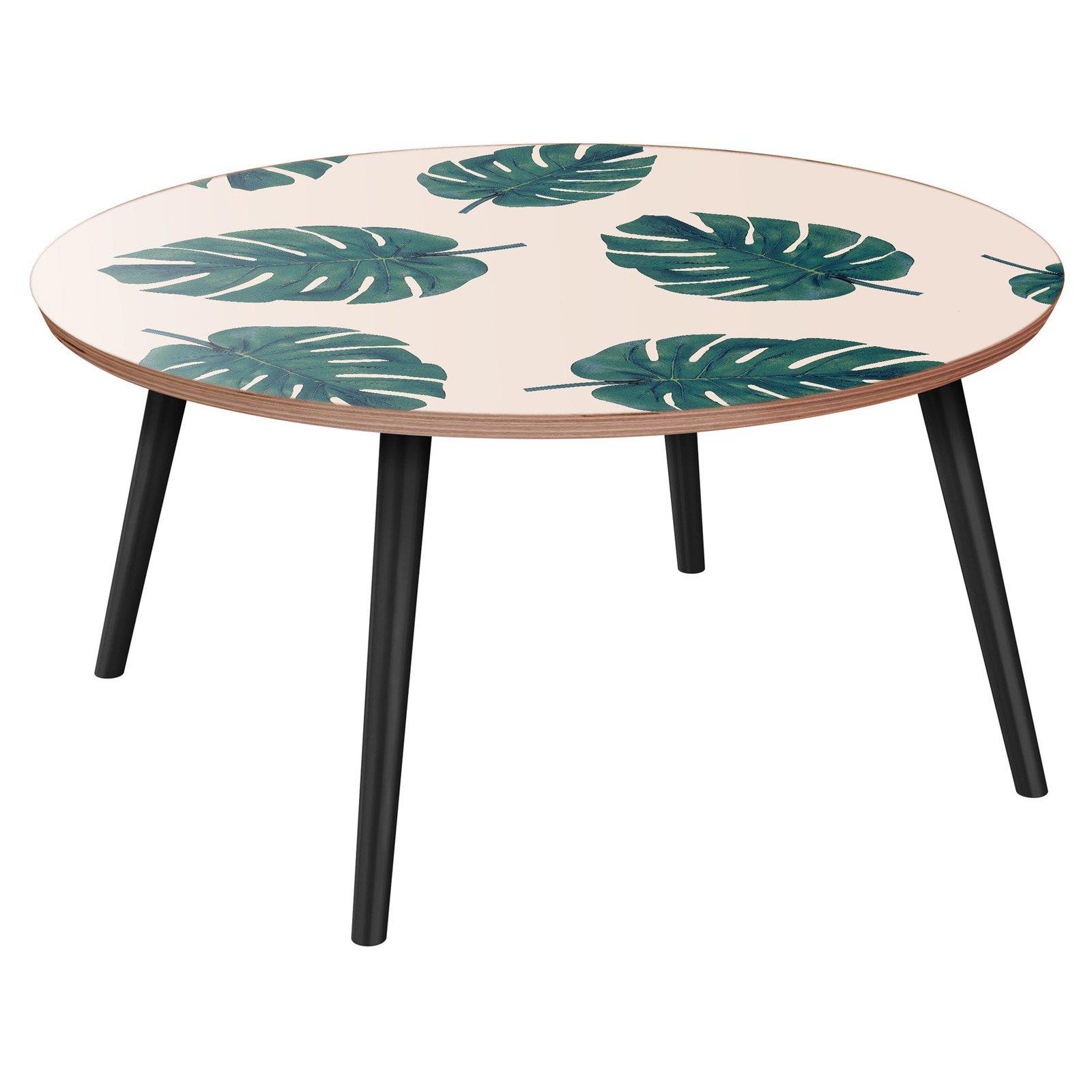 Nyekoncept Stella Modern Tropics Flare Coffee Table Coffee Table Contemporary Coffee Table Coffee Table Wood