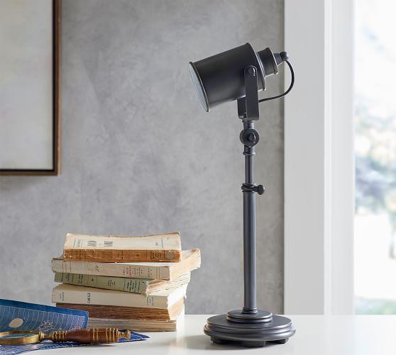 Photographer S Task Table Lamp Bronze Pottery Barn Table Lamp Lamp Modern Lamp
