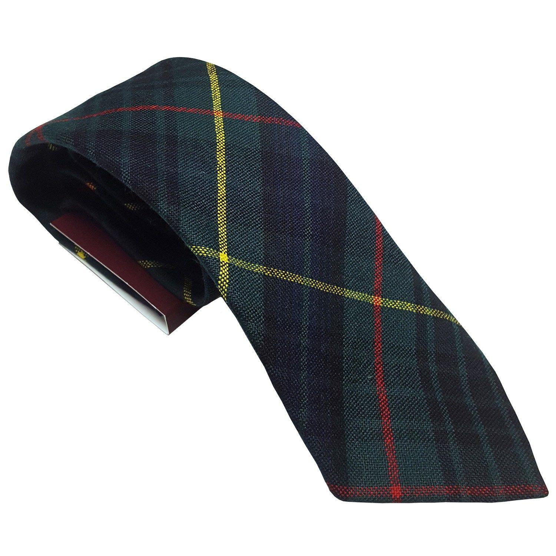 Mens Tie All Wool Made in Scotland MacKenzie Weathered Tartan