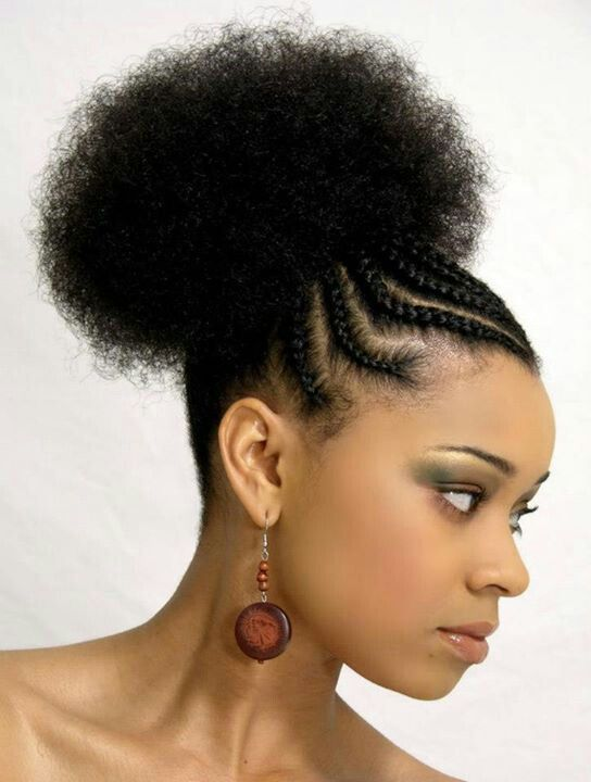 Pin By Erika Hope On Naturally Me Braided Hairstyles Natural Hair Styles Easy Natural Hair Braids