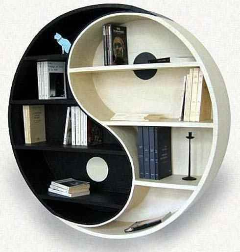 Ying Yang bookcase @Baylie Carlson Carlson Carlson Wright