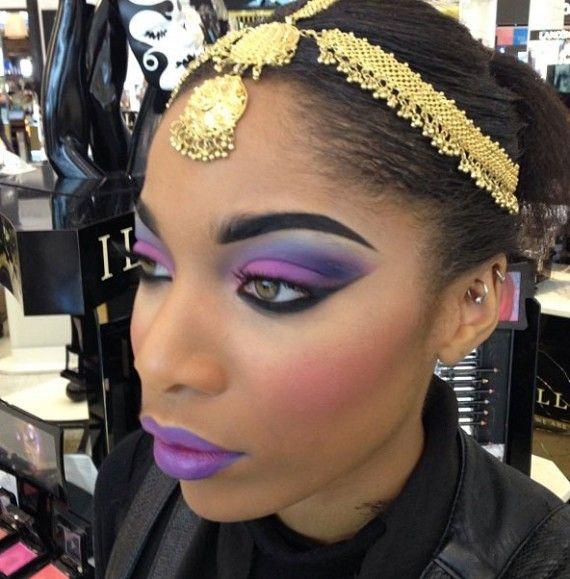 Indian Princess » Eyeshadow Lipstick