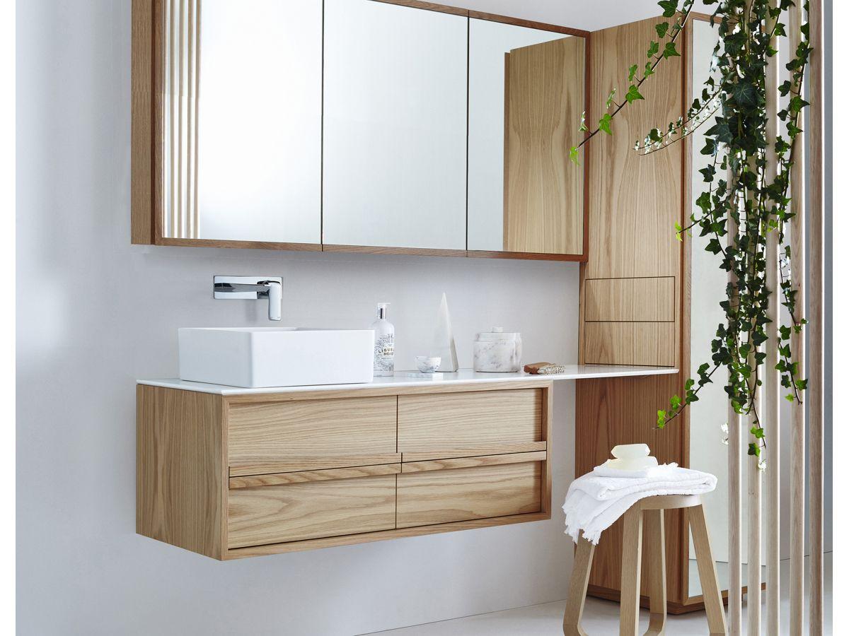 Issy Z8 1500 Triple Shaving Cabinet Timber Vanity Reece