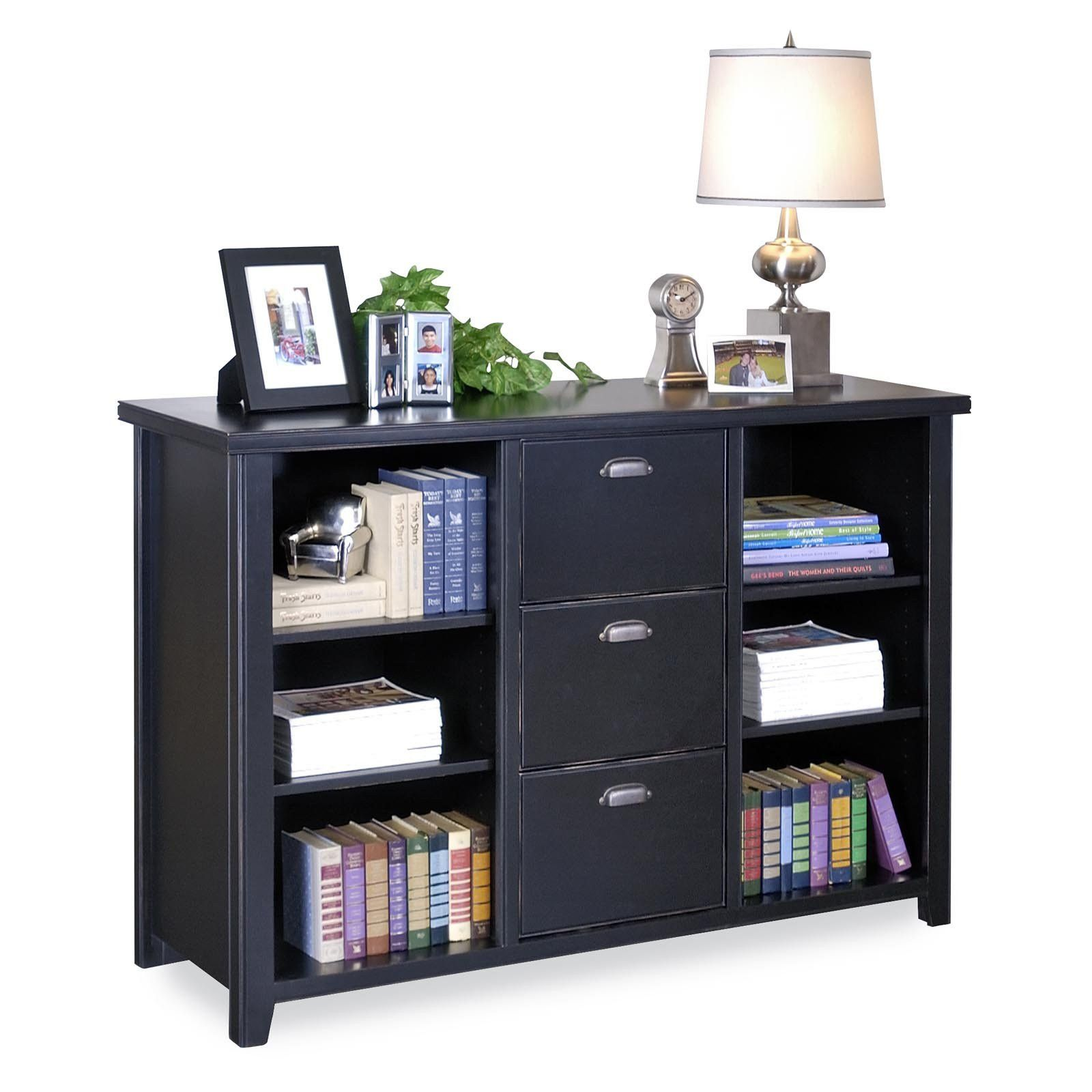 2019 Lateral File Cabinet With Bookcase