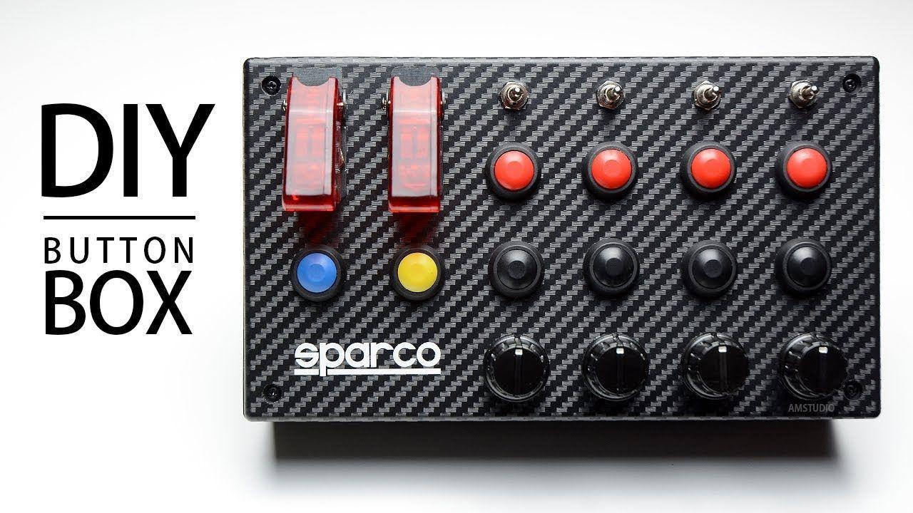 Arduino Button Box Tutorial | Panneau de contrôle, Matériel de ...