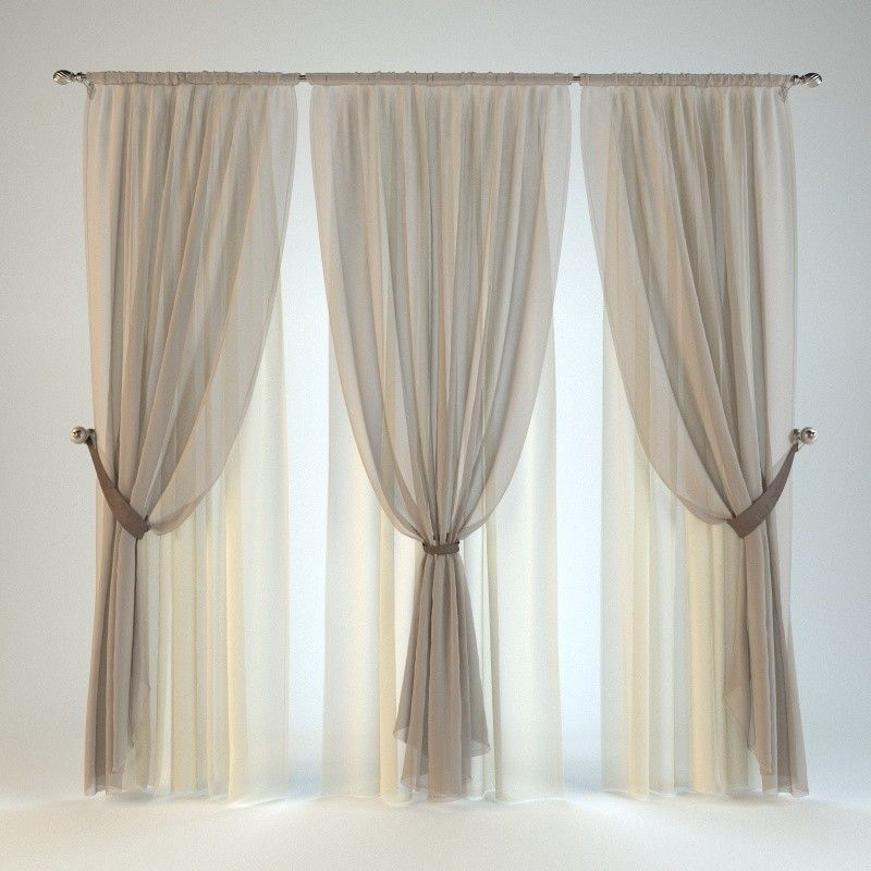 Curtains Textile Curtain Blinds Tulle Drapes Bando