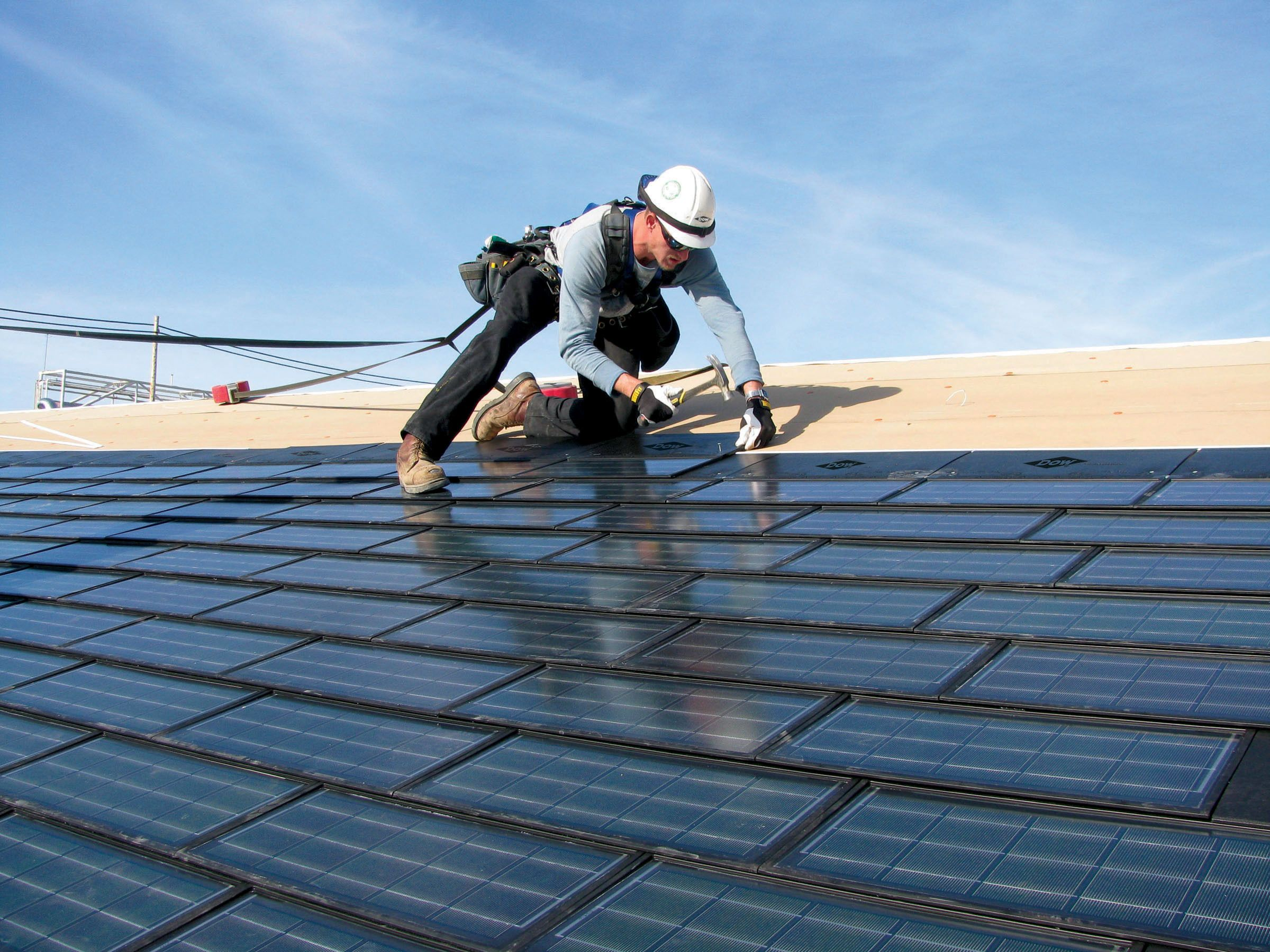 A properly installed roof can installed by only professional roofing  contractors. You must hire professional roof… | Solar shingles, Roofing  contractors, Solar roof