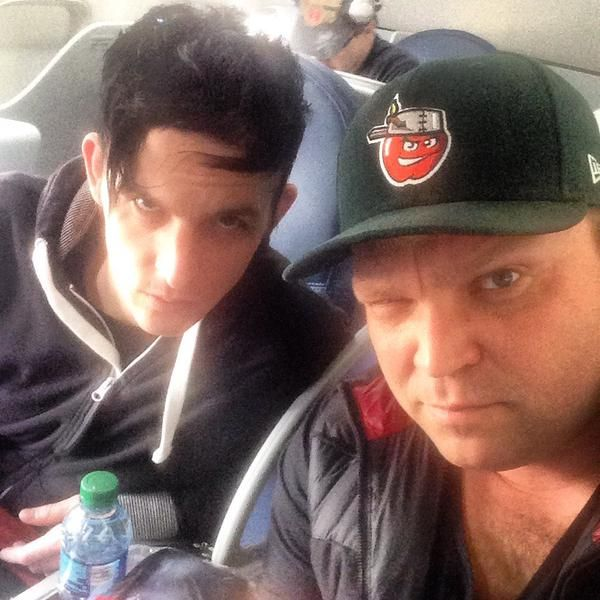 Robin Lord Taylor and Drew Powell