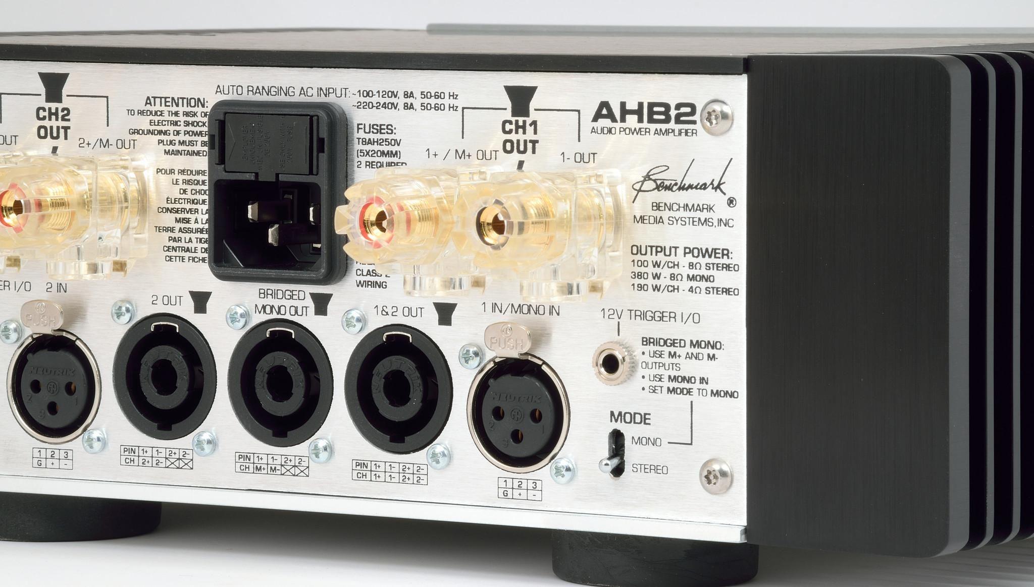Benchmark AHB2 Power Amplifier   hifi