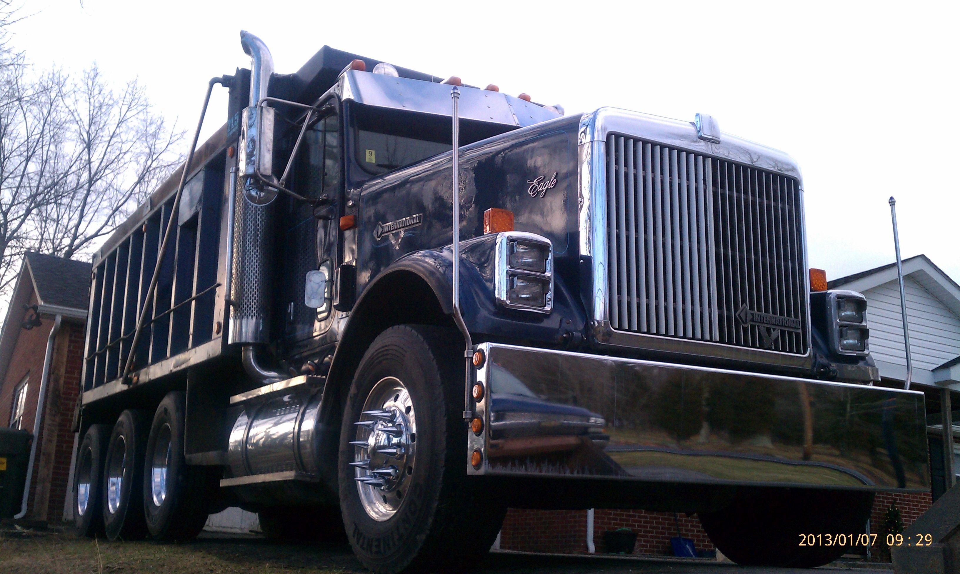 97 international eagle 9370 dump truck