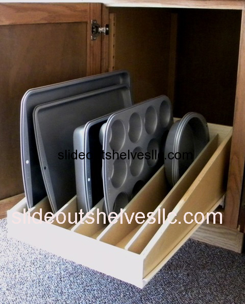 Pull Out Shelf Organizer Like This Or Have One Over The Microwave
