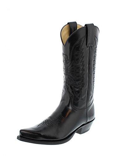 Sendra Negro Herren 2073 Damenamp; Florentic Boots LGMqSUVzp