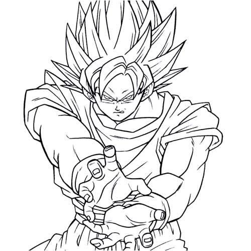 Dibujos de Dragon Ball Z para imprimir y colorear | Fotos o Imágenes ...