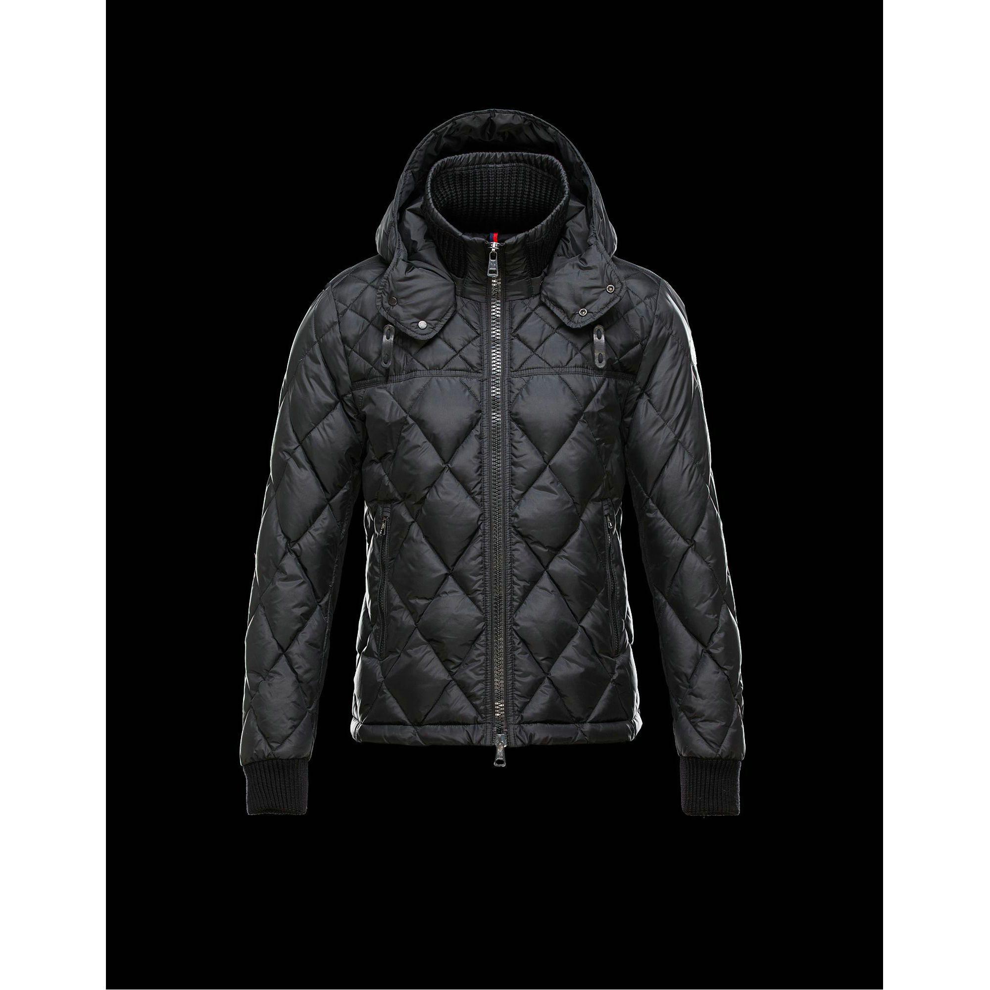 2015 New! Moncler GIRARDOT Fashion Down Jacket Men Black