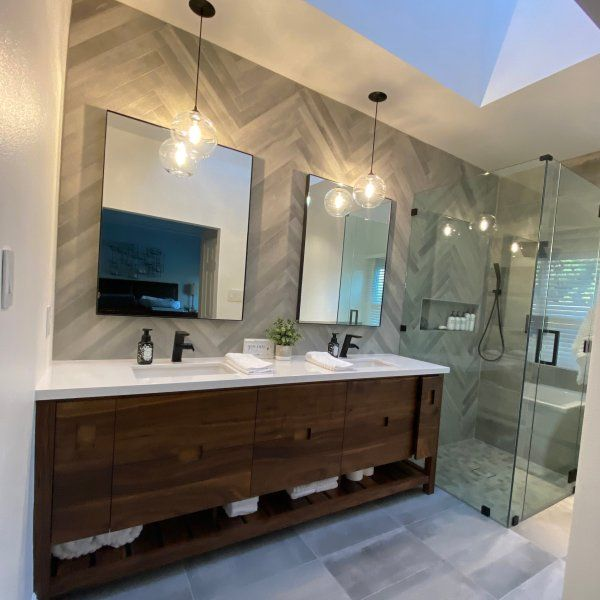 Photo of Infinity Wall Mirrors in Colors – Modern Bathroom Mirrors – Modern Bath Furniture – Room & Board