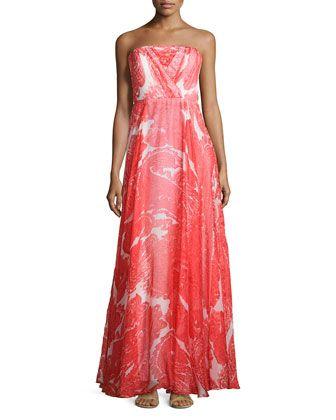 Shop Monica Strapless Maxi Dress 4b398bb110ee3
