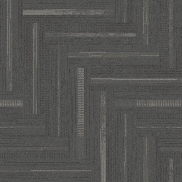 Interface Modular Carpet Trio Steel X2f Granite Commercial Carpet