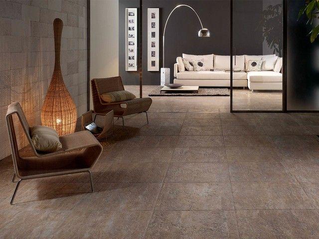 Pavimento effetto pietra anticata #gresporcellanato #piastrelle