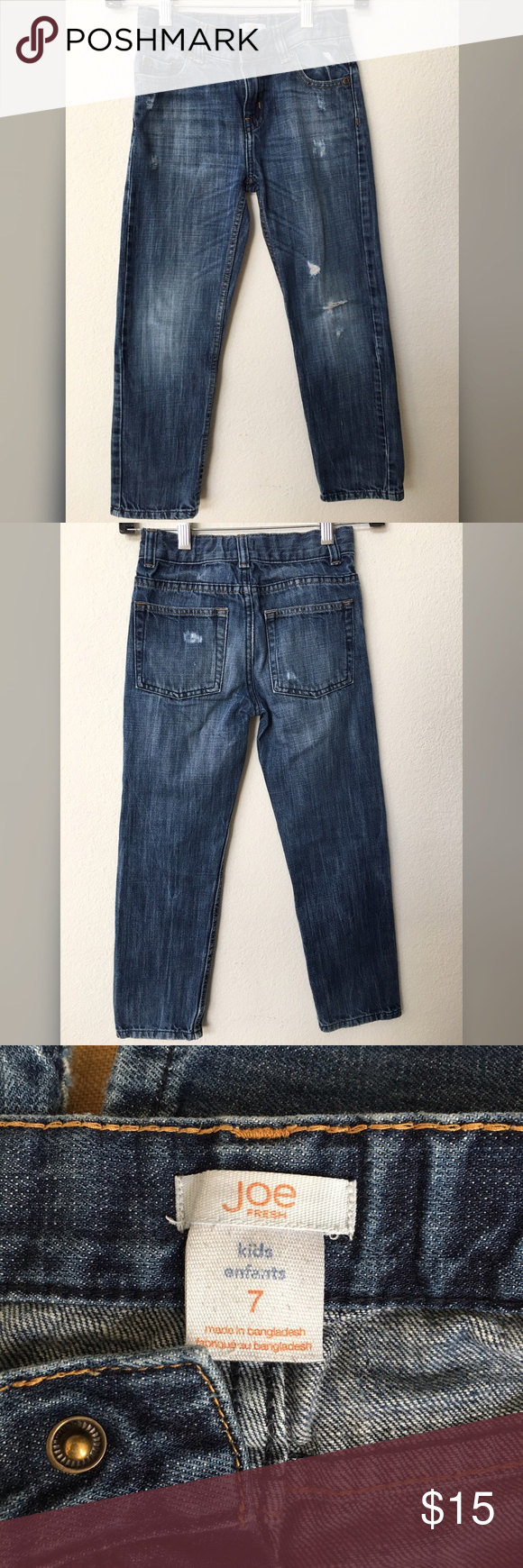 Joe Fresh kids jeans good condition jeans come from a smoke and pet free home Joe Fresh Bottoms Jeans