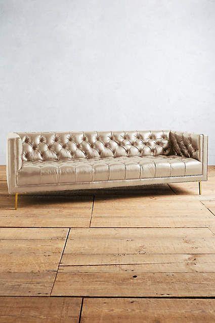 Premium Leather Mina Sofa.