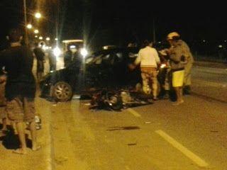 CIDADE: Acidente de moto em Búzios