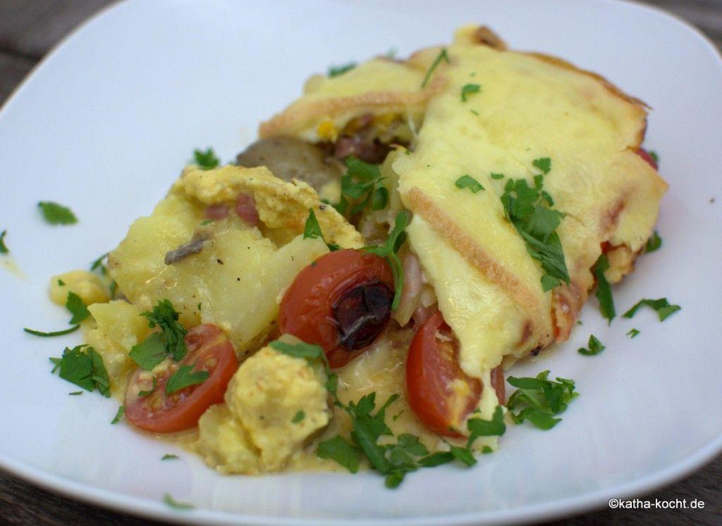 Was man aus den Resten vom Raclette macht - Katha-kocht!