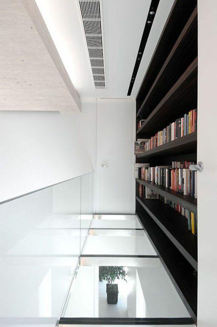 Transformez votre maison avec le plancher en verre! Interiors - maison toit en verre