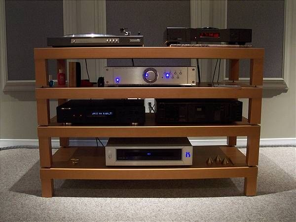awesome home built hifi rack made of ikea lack coffee tables design pinterest hifi m bel. Black Bedroom Furniture Sets. Home Design Ideas