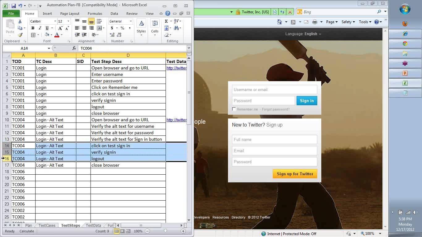 Keyword Driven Framework Using Qtp How To Develop A Keyword