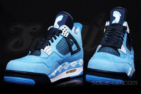 266685d6f0983b ... carolina blue topdeals bf9fe 1d17a  coupon for another look at the  incredibly eye popping air jordan 4 unc pe. the