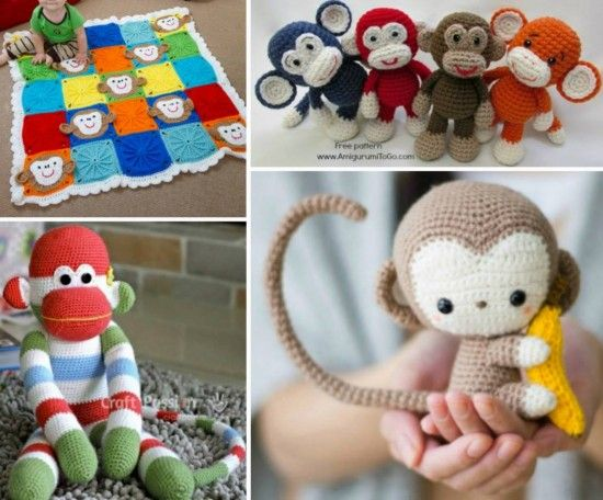 Sock Monkey Crochet Pattern Monkey Crochet Blankets And Free Pattern