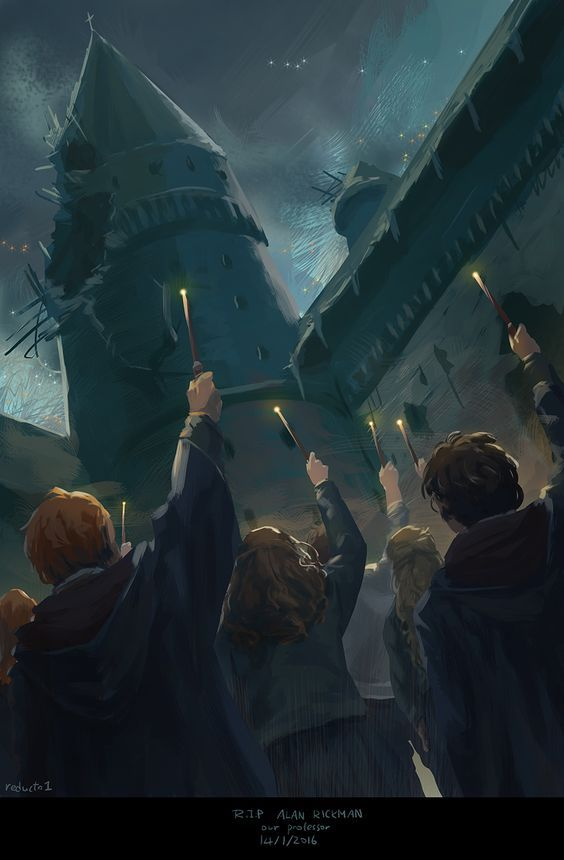 For Alan And The Love Of Your Fans Our Wands Ready Pointed In Sky To Part The Clouds For You Harry Potter Universal Harry Potter World Harry Potter Wallpaper
