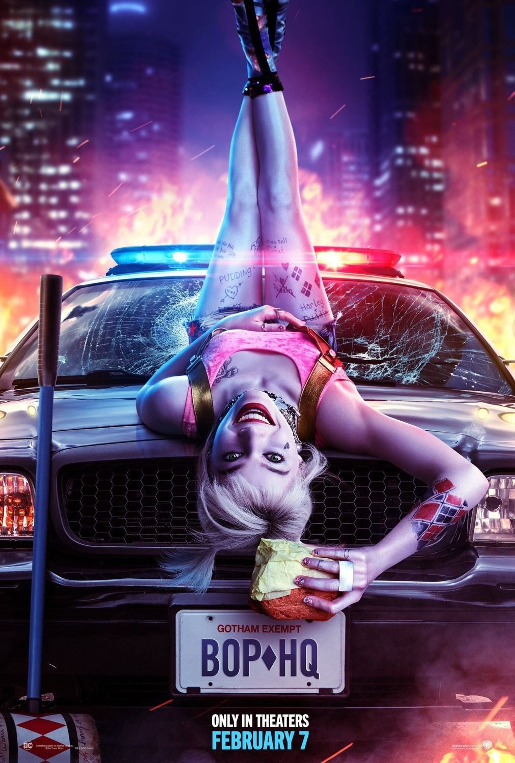 Birds of Prey: The Emancipation of Harley Quinn - Poster