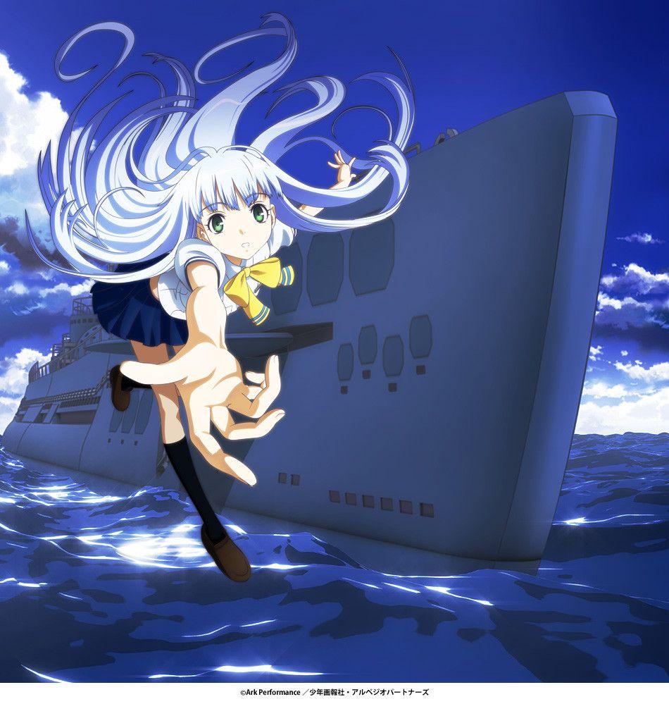 Iona And Kongo Arpeggio Of Blue Steel Blue Steel Anime